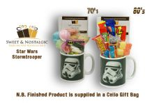 Star Wars Storm Trooper Mug with/without a Dark Side.. portion of 70's or 80's Sweets